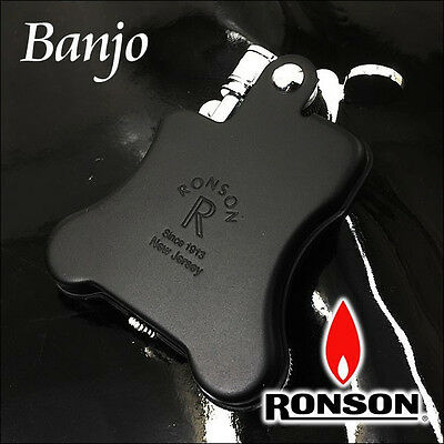 RONSON CLASSIC DESIGN Cigarette OIL LIGHTER BANJO R01-0024
