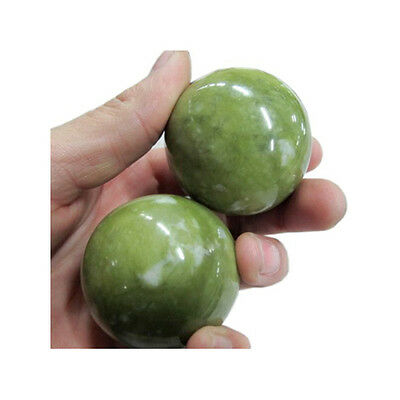 Chinese Baoding Health Jade Balls (hand exercise, stress relaxion, pain therapy)