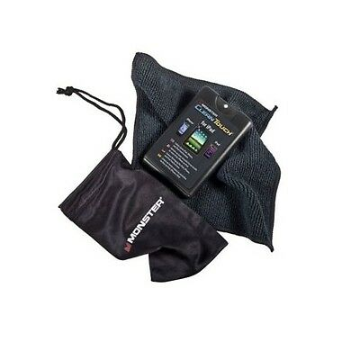 MONSTER CleanTouch LCD Screen Cleaner Cloth Spray iPhone iPad iPod Clean Touch