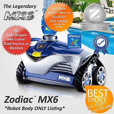 Genuine New Zodiac Pool Cleaner Mx6 Automated Suction Robotic - Robot Body Only