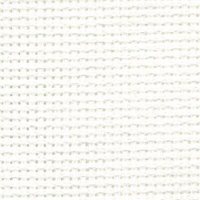 DMC 16 Count AIDA BLANC / WHITE Various Sizes 100% Cotton Cross Stitch Fabric
