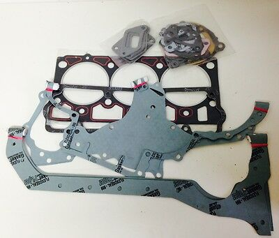 MAHINDRA TRACTOR COMPLETE GASKET SET W/ HEAD 3 CYL OLD -0083 and -0915
