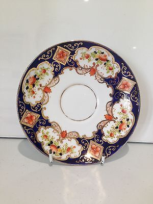 1920's ROYAL ALBERT HEIRLOOM IMARI SAUCER 2 AVAILABLE NOT DERBY OR ALHAMBRA