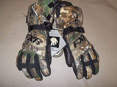 FXR Racing Women's Fusion Glove Realtree XS Snowmobile Gloves 15614.33304