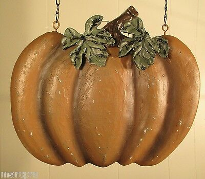 """ORANGE PUMPKIN"" Replacement Sign - Resin Sign for Country Arrow Holders"