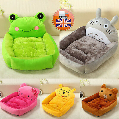 Winter Soft Warm Comfy Fabric Dog Puppy Cat Teddy Pet cute Bed House KGY