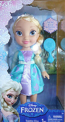 Disney Princess Frozen Elsa Toddler Doll Girls Playset Toy Hairbrush BOX DAMAGE