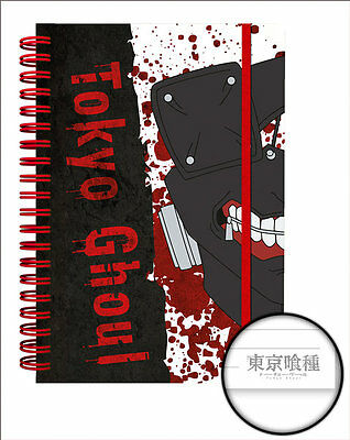 Tokyo Ghoul A5 Notebook Mask Ken Kaneki Anime Manga 100% Official Licensed GB