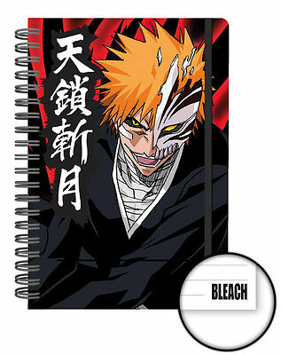 Bleach A5 Notebook Ichigo Mask Anime 100% Official Licensed GB