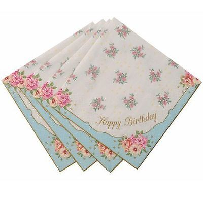Truly Scrumptious Happy Birthday Napkin