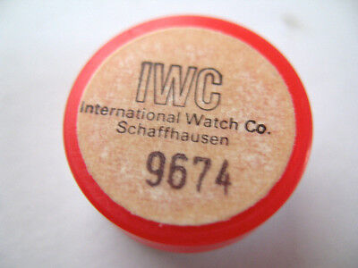 Iwc International 96 Watch Part Balance Complete Part 721