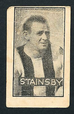 1926 Cains Sweets Stainsby Collingwood RARE Football Card