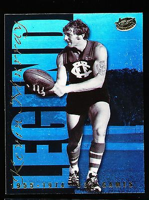 1999 Select Kevin Murray Legend 333 Games Fitzroy Lions card LC1