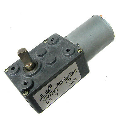 Worm gear motor Third Extension motor GW370-12V DC motors Robot model DIY