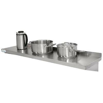 Stainless Steel Commercial Kitchen Shelf Restaurant Cafe Hotel 1200 x 300mm