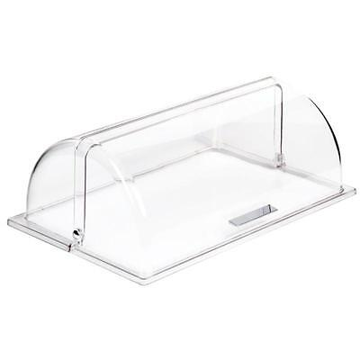 APS Frames 1/1 GN Rolltop Cover Only Transparent Plastic Food Display Stackable