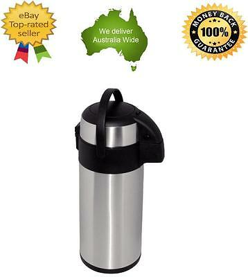 Olympia Pump Action Airpot Dispenser 5Ltr Coffee Tea Hot Water Beverage
