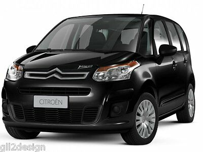 Citroen C3 Picasso MAGNETIC privacy ☀ blinds BLACKOUTS reversible SUN shades