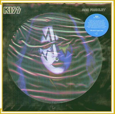 "Ace Frehley "" Kiss Disco Picture "" Lp Sigillato 180 Gram Virgin Vinyl (Russia)"