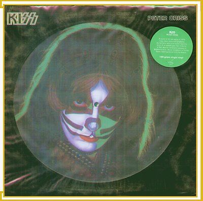 "Peter Criss "" Kiss Disco Picture "" Lp Sigillato 180 Gram Virgin Vinyl (Russia)"