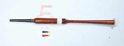 New Scottish Greats Highland Bagpipe Practice Chanter RoseWood /Practice Chanter