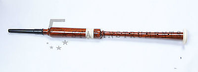 Brand New Scottish Greats Highland Bagpipes Practice Chanter Natural Wood Color