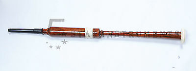 New Scottish Greats Highland Bagpipes Practice Chanter Natural Wood Color