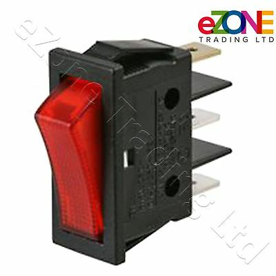 On-Off Red illuminated Switch for Archway Doner Kebab Machine