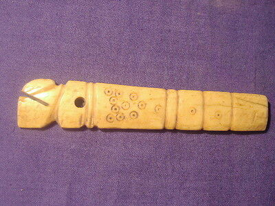 Ancient Shell/Bone Handle Roman 200 BC   #1927