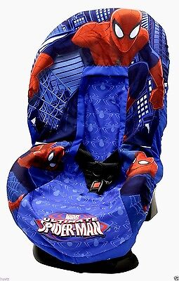 Spiderman Baby Kids Children Car Seat Cover Cushion Pad Fits Most Seats Covers