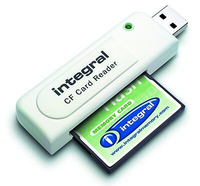 Cf Compact Flash Memory Card Reader 2Gb 4Gb 8Gb 16Gb 32Gb 64Gb
