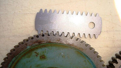 Gear Tooth Gauges 15 leaves 23 profiles .35 to 4.5 Modular  20dec pressure angle