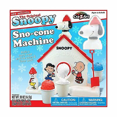 Snoopy Snow Cone Machine by Unknown FREE SHIPPING (BRAND NEW) XTS