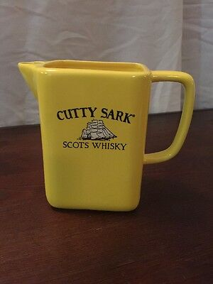 Cutty Sark Scots Whisky Barware Advertising Pitcher