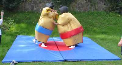 New Adult Sumo Suits 3 YearMftrs Warranty Direct From UK Manufacturer