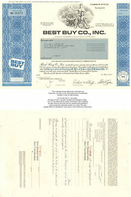 Best Buy > collectible Minnesota stock certificate
