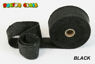Doctor Glass - Exhaust Header Wrap - BLACK
