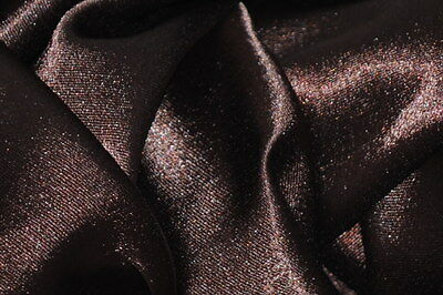 Crepe Back Satin Bridal Fabric BROWN Drapery Soft 60 WIDE 30 YARD Roll WHOLESALE