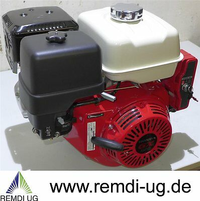 Honda Industrie Motor ca. 11 HP(früher 13 PS) GX390 Serie Welle 25/63 mm E-Start