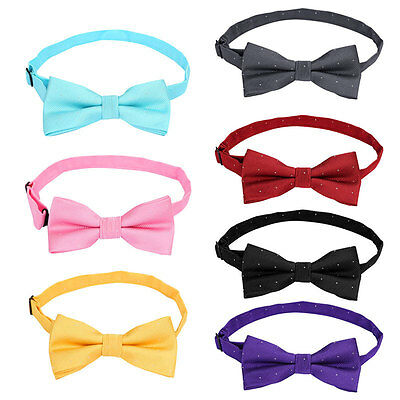 Boys Kids Childrens Adjustable Pre Tied Wedding Party Bow Ties Bowties