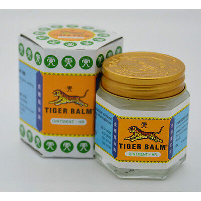 30G Tiger Balm White Muscle Aches Pain Relief Ointment Massage Rup Free Shipping