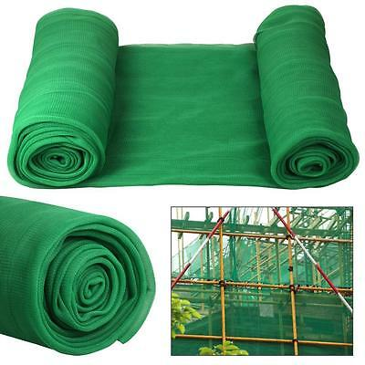 Green 2M X 50M Debris Scaffold Protection Netting Plant Fence Garden Crop Shade