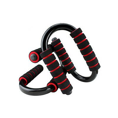 New Kuangmi Foam Handle Push-up Press UP Bars Stands Home Exercise Workout Gym
