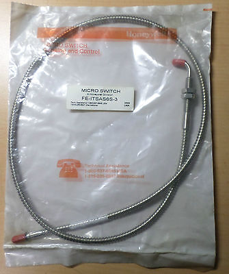 Honeywell Microswitch FE-ITSAS6S-3 Glasfaser Lichtleiter, Fiber Optic Cable