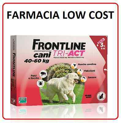 Frontline Tri-Act Cani Xl 40-60 Kg 3 Pipette