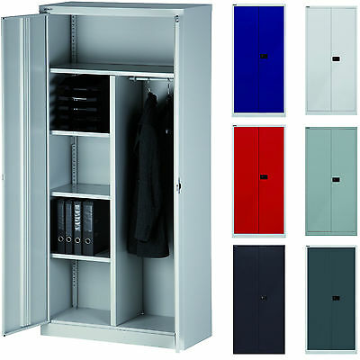 bisley garderobenschrank garderoben kleider spind metall schrank stahlschrank eur 209 99. Black Bedroom Furniture Sets. Home Design Ideas