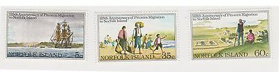 (OX-50) 1981 Norfolk Island 3set migration to Norfolk Island SG258-60 MUH (A)