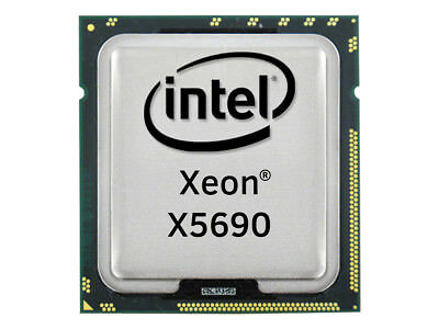 Intel Xeon X5690 Six Core CPU 6x3.46GHz-12MB 6.40GT/s FCLGA1366, SLBVX