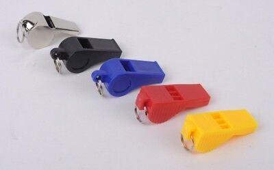 Whistle With Lanyard Referee Football Sports Lifeguard