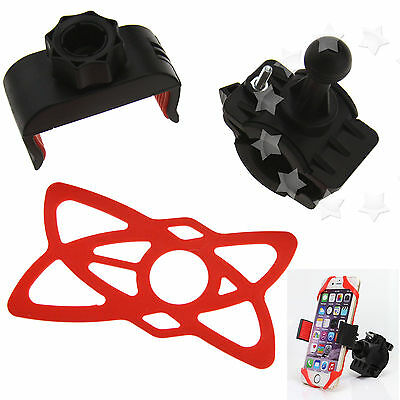 16mm-29mm Handlebar Phone Mount Holder For Motorcycle Bicycle